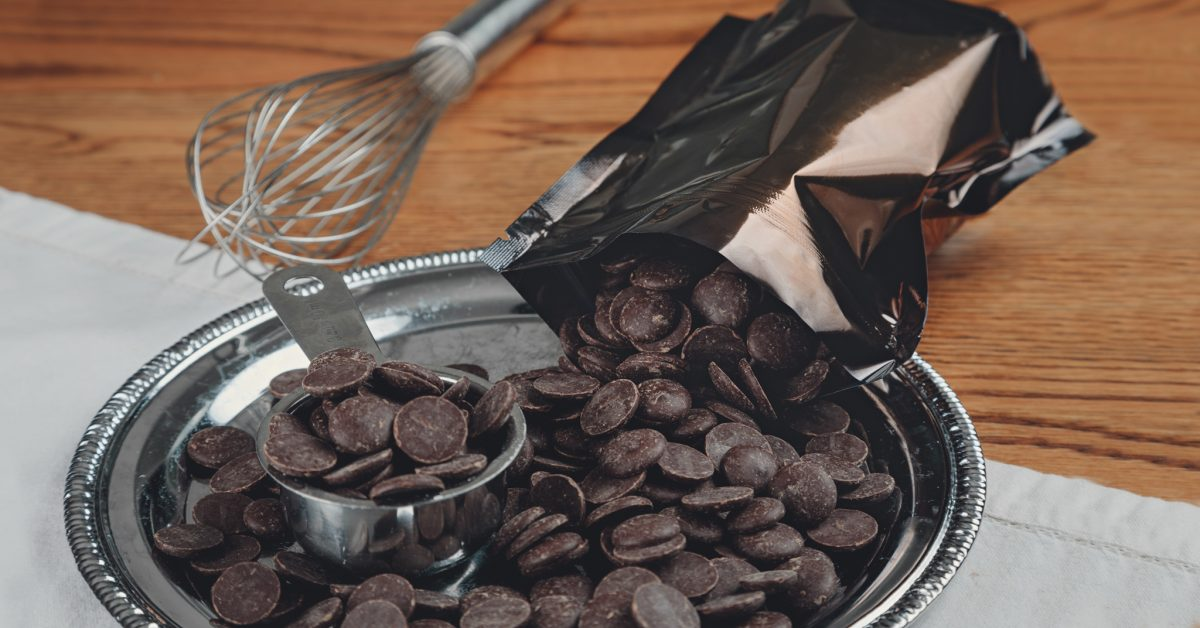 Pistoles de chocolat noir 250 g