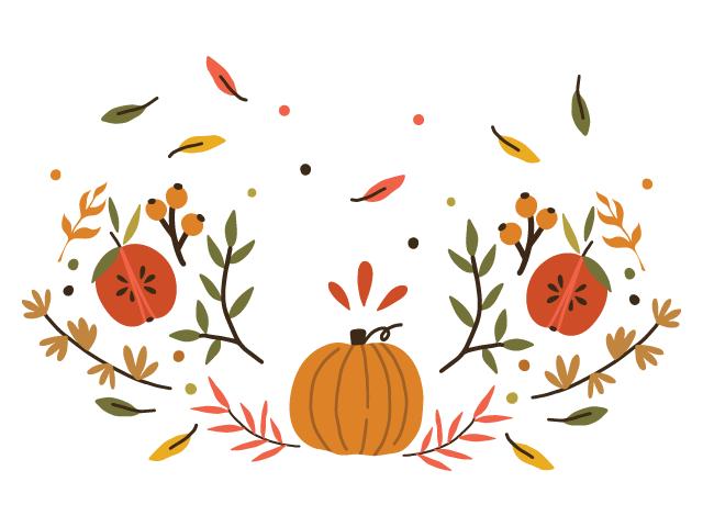 Remerciements automne